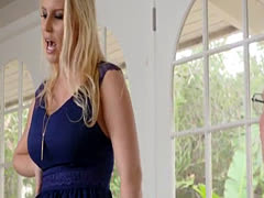 Mom seduces beautiful playfellow's daughter Birthday Sex, Butt Not