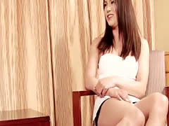 Japanese newhalf facefucked and buttfucked