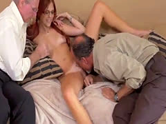 Teen bed sex and gets stuck Frannkie And The Gang Take a Trip Down Und