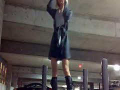 Public Parking Garage Masturbation - freesextoys*