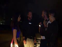 Guy sex man tied up by cops and fucking boys gay porno Purse thief