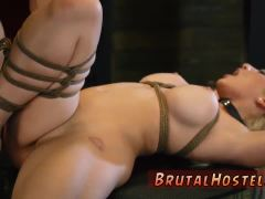 Hd brutal gagging and hardcore bondage fucking machines Now she's brok