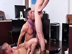 Straight gay man anal finger Lance's Big Birthday Surprise