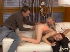 Daddy webcam and old women young girl Unexpected experience with an ol