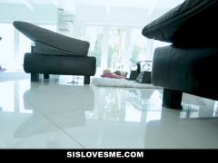 SisLovesMe - Horny Teen Stepsis Seduces Stepbro