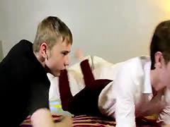 Cute small boys ass movie gay xxx Bareback Buddies In A Live Fuck Show