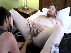 Cum on breast galleries gay Sky Works Brock's Hole with his Fist