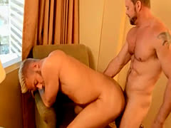 Men having gay sex with white boy The Boss Gets Some Muscle