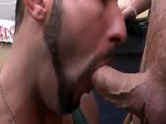 Public gay fucking and nude mens xxx Hot public gay blowjob