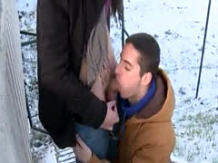 Old men gay blow job porn Two Sexy Hunks Fuck Outdoors For