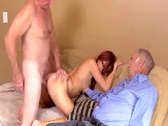 Big tits milf striptease chubby and young couple webcam Frannkie And T