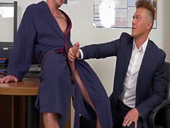 Two cocks in anal hole gay porn and movies of erect ready for sex We