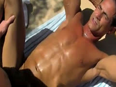 Teen twink speedo films and horny friend' playmate's