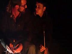 Beautiful cute teen shirtless boys gay Camping Scary Stories