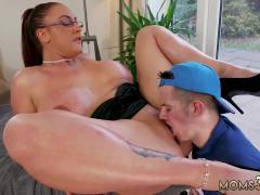 White facial compilation xxx Big Tit Step-Mom Gets a Massage
