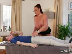 Family fuck first time Big Tit Step-Mom Gets a Massage
