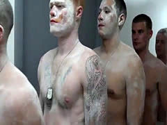 Lads military men nude gay xxx The Hazing, The Showering and The Fucki
