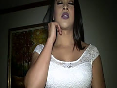 Big boobs amateur ladyboy blowjob and bareback anal sex