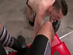 Amatuer gay fist clubs Sub fuck-fest pig, Axel Abysse crawls on forear