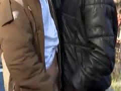 Gay bald big dick porn movie Outdoor Anal Fun