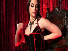 Mistress goddess anal fucks male sub