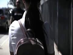 School shrink bangs troubled latina schoolgirl teen