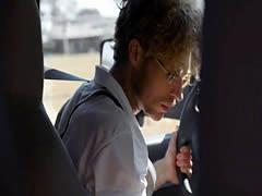 Bus driver fuck schoolgirls black mirror style in a VR