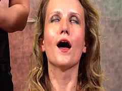 Hot slave fetish and orgasm