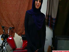 Kinky dude touches arab chick all over before demolishing her pussy