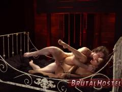 Throat domination and device bondage gangbang xxx Poor little Jade
