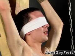 Bondage gay necktie Reece is the unwilling blindfolded victim, with Adam