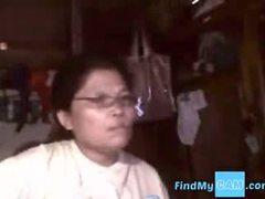 Asian granny Elizabeth 57 yr Part 3